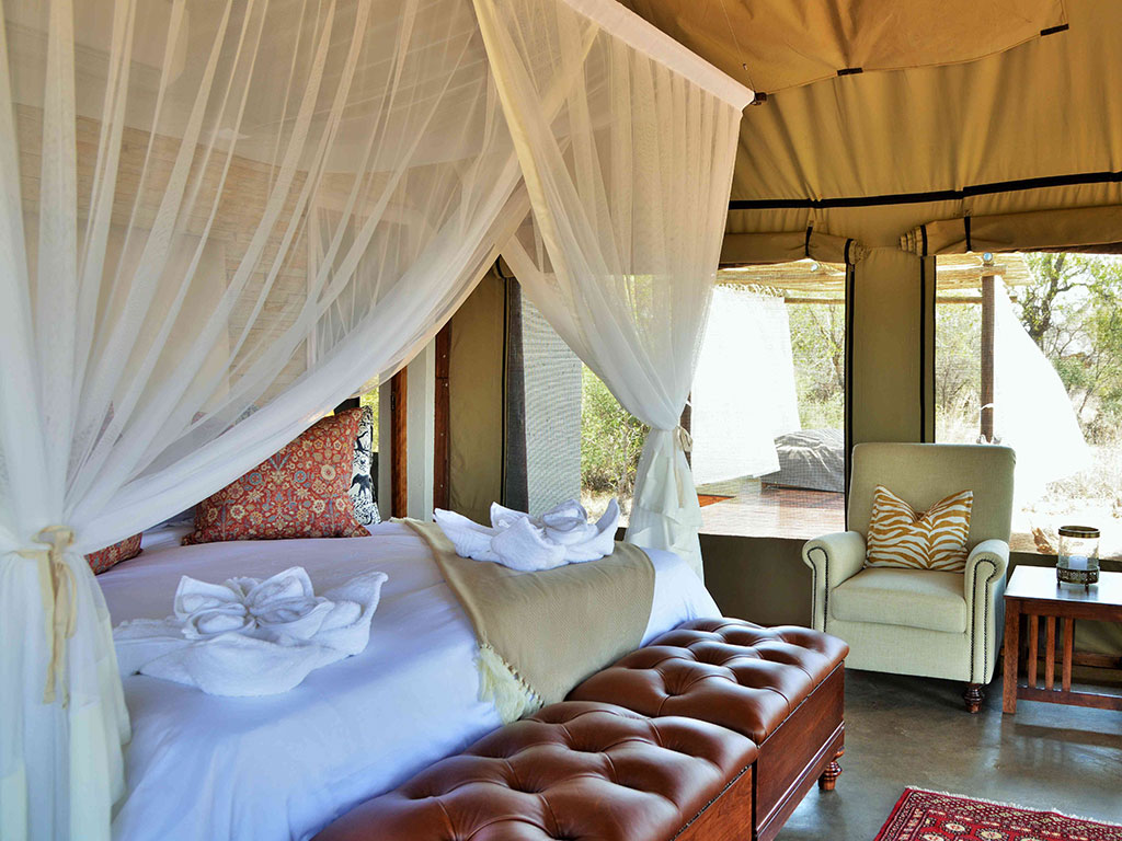20 exquisite tented suites accommodation